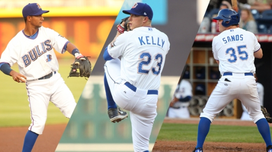 Cole Figueroa, Merrill Kelly and Jerry Sands have each signed with a different team, ending their runs in Durham.